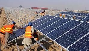 نیروگاه خورشیدی در لارستان